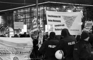 Gegen Dügida am 02. Februar 2015