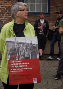 70 Jahrestag der Befreiung - Demo Düsseldorf